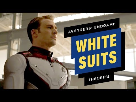 Are Avengers: Endgames White Suits for Quantum Realm Travel?
