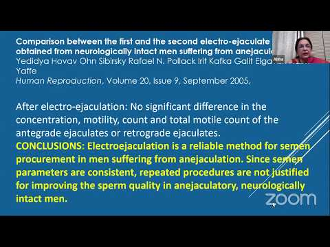 Dr  Abha Majumdar LIVE Webinar - Male infertility ( Type- case Files)