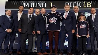 Blue Jackets Select Liam Foudy 18th Overall (2018 NHL Draft) (Sportsnet)
