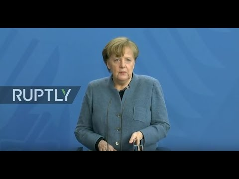 LIVE: Merkel holds joint press statement with Icelandic PM in Berlin