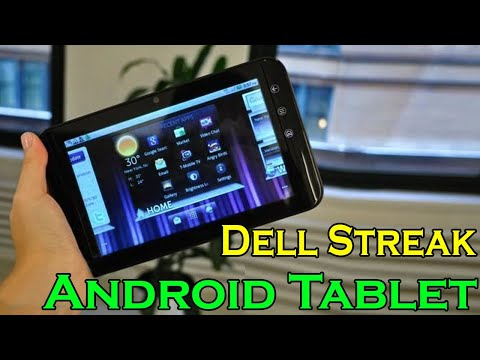 Dell Streak Review — Android Tablet Reviews by Review Vision