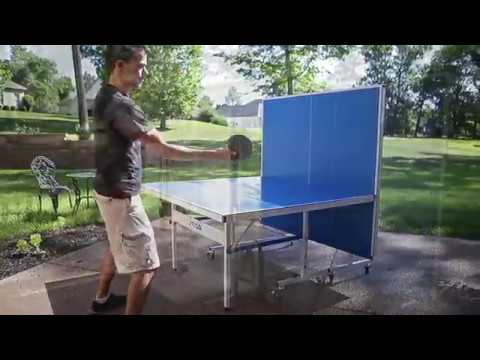 STIGA Vapor Indoor//Outdoor Table Tennis Table with QuickPlay Design 95/% Preassembled Out of The Box with Aluminum Composite Top for All-Weather Performance
