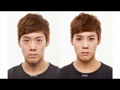 Kpop Makeup For Guys Male-K-pop Star Makeup -