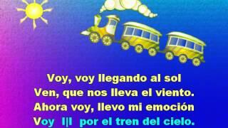 TREN DEL CIELO - Skytrain - Karaoke Ilustrado de una Canción del Folclor Argentino