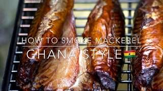 How to smoke mackerel (#GhanaStyle 🇬🇭)