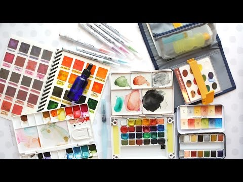 Traveling with Watercolors - My Recommendations