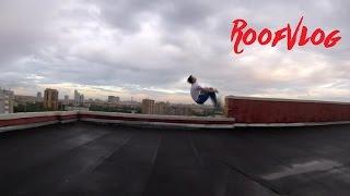 Прыгнул заднее сальто на крыше | NAMSTAR