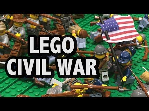 LEGO Battle of Antietam | American Civil War 1862