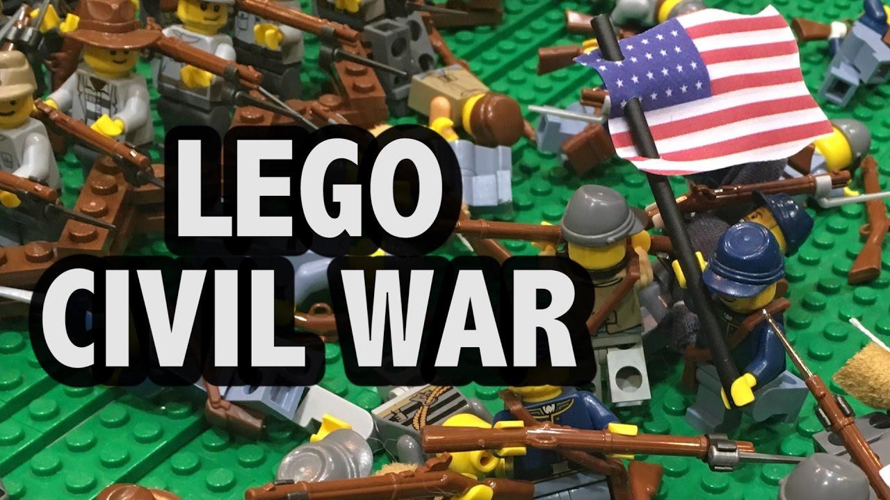 LEGO Battle of Antietam   American Civil War 1862