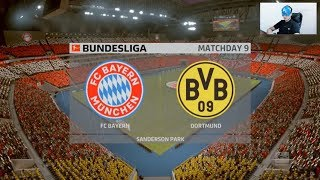 Fifa 20 Gameplay - Bayern Munich vs Borussia Dortmund