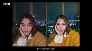 vivo V21 5G - Dual OIS Night Camera