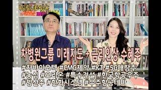 차병원그룹의 미래지도 + 금리인상 수혜주