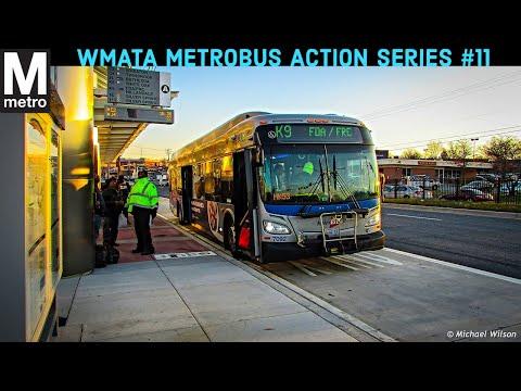 WMATA Metrobus Action Series #11
