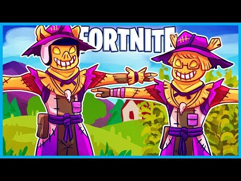 *HILARIOUS* NEW TPOSE SCARECROW TROLL in Fortnite: Battle Royale! (Fortnite Funny Moments & Fails)