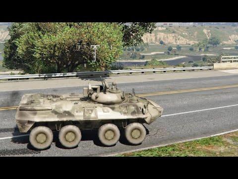 GTA V - BTR 90 Rostok 0.01 EnRoMovies
