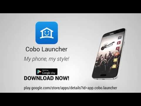 Cobo Launcher Easily DIY Theme