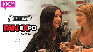 Carmilla @ Fan Expo Canada 2016 | KindaTV ft. Natasha Negovanlis