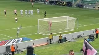 Gol coronado Palermo Avellino