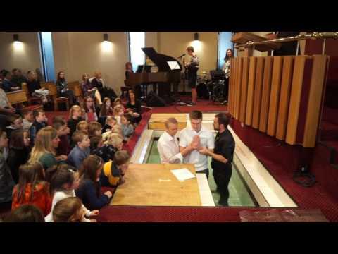 Baptism 04-12-16 Portadown Baptist Church