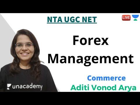 Forex Management | Commerce | NTA UGC NET | Aditi Vinod Arya