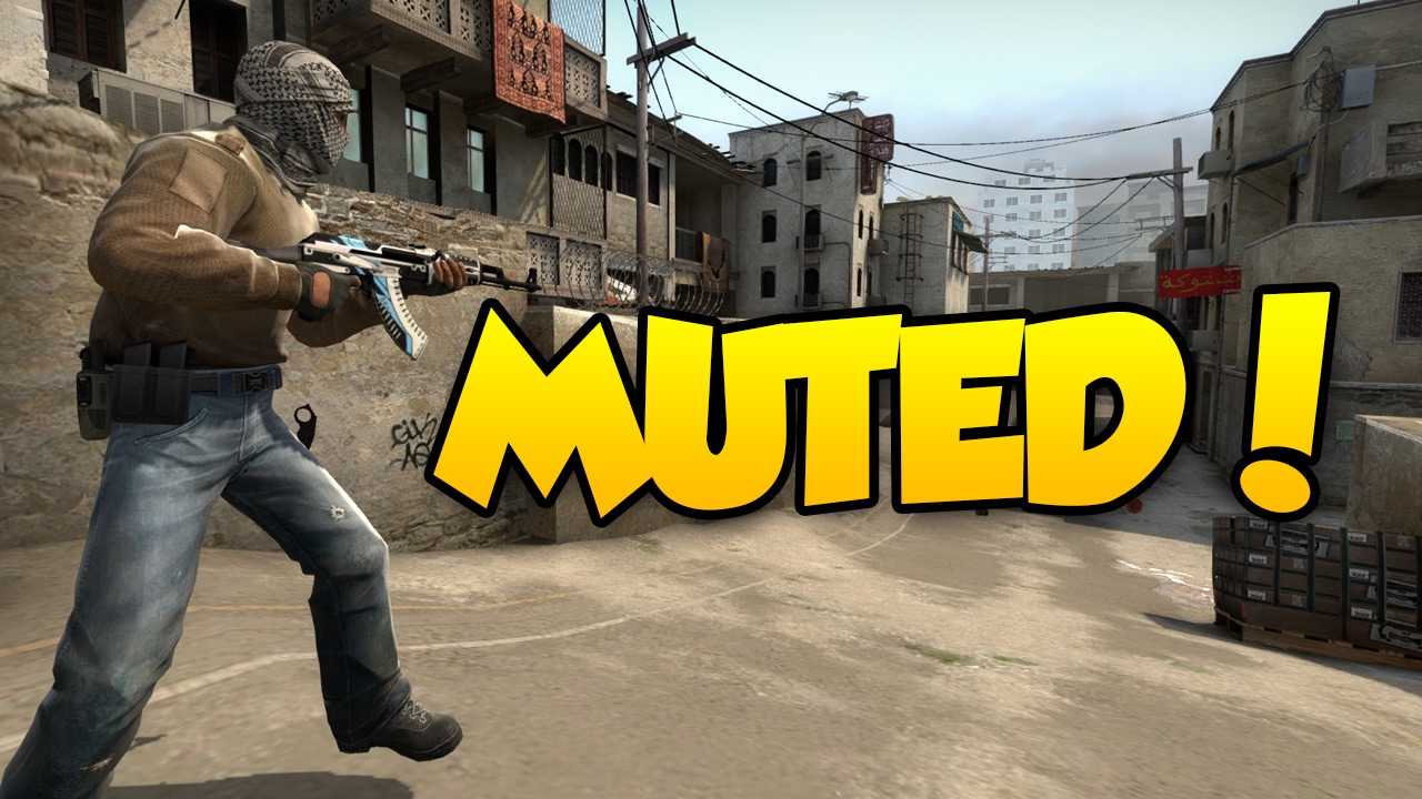 how to mute csgo
