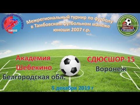 Академия Шебекино Белгородская область - Сдюсшор - 15 Воронеж