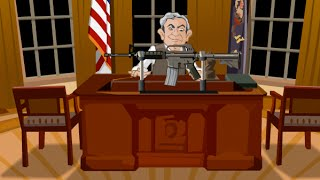 """President"" Bush Shoot-Out & Royal Rampage (Flash Games) - Full Games HD Walkthrough - No Commentary"
