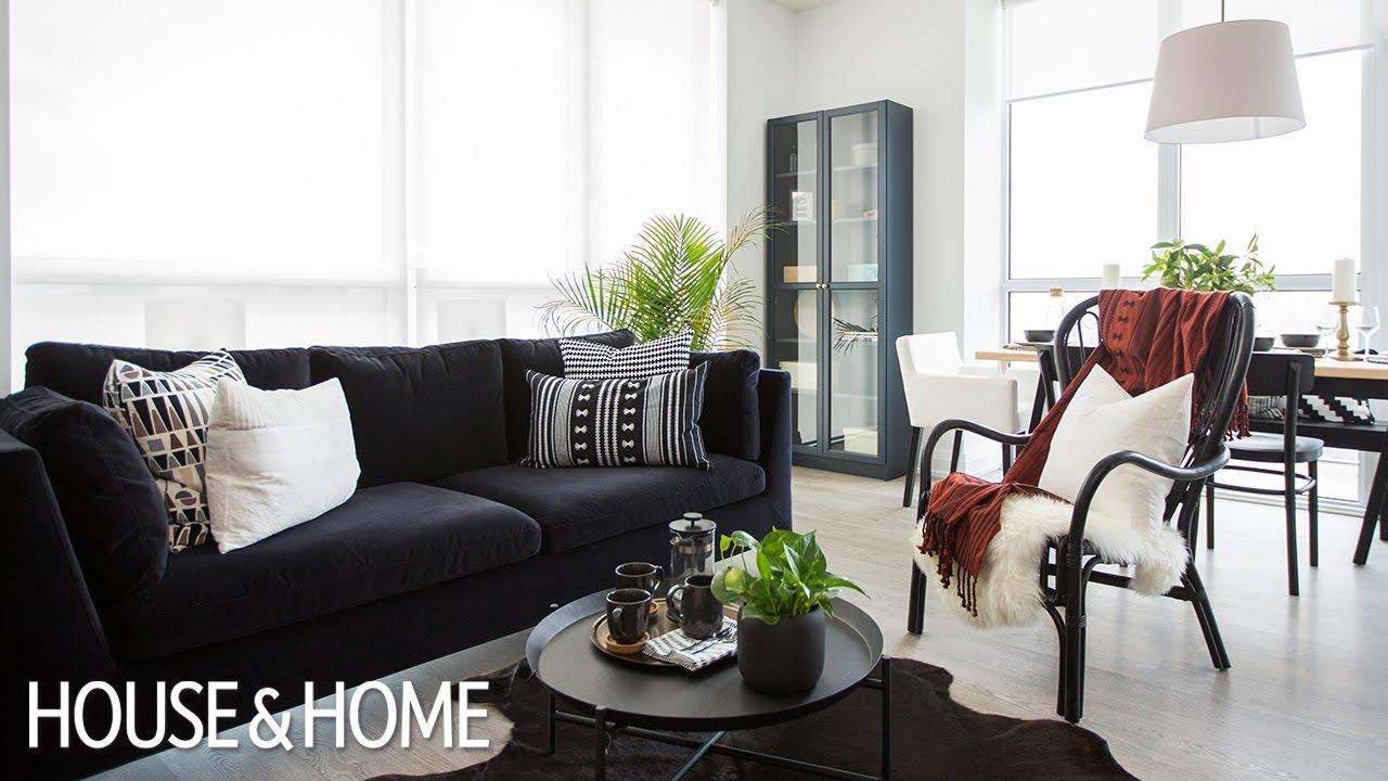 Condo Interior Design Ideas Living Room Decor Mirror For How To Decorate A 2 Bedroom Under 10k
