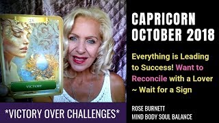 Capricorn October 2018 *Victory Over Challenges*