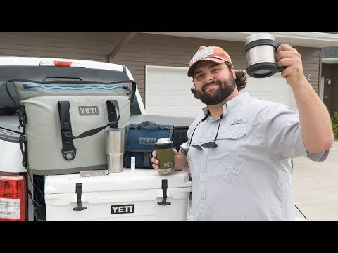 Guys with a YETI