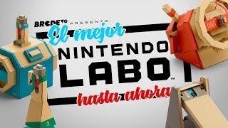 El MEJOR Nintendo Labo hasta ahora