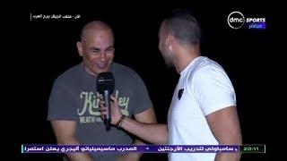 المقصورة - تصريحات ابراهيم حسن بعد الفوز على اسوان