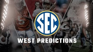 National experts predict who wins the SEC West in 2016