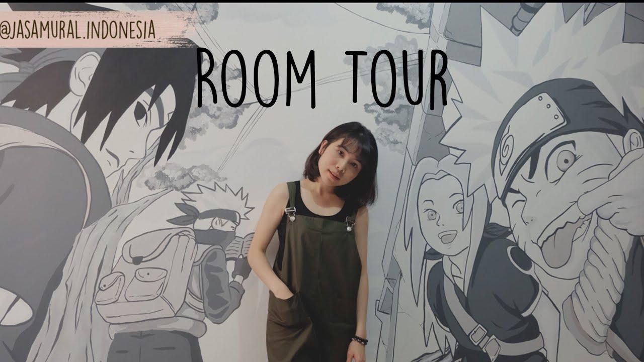 "ROOM TOUR KAMAR AKU ""THE ORIGINAL TEAM 7 NARUTO WALL"""