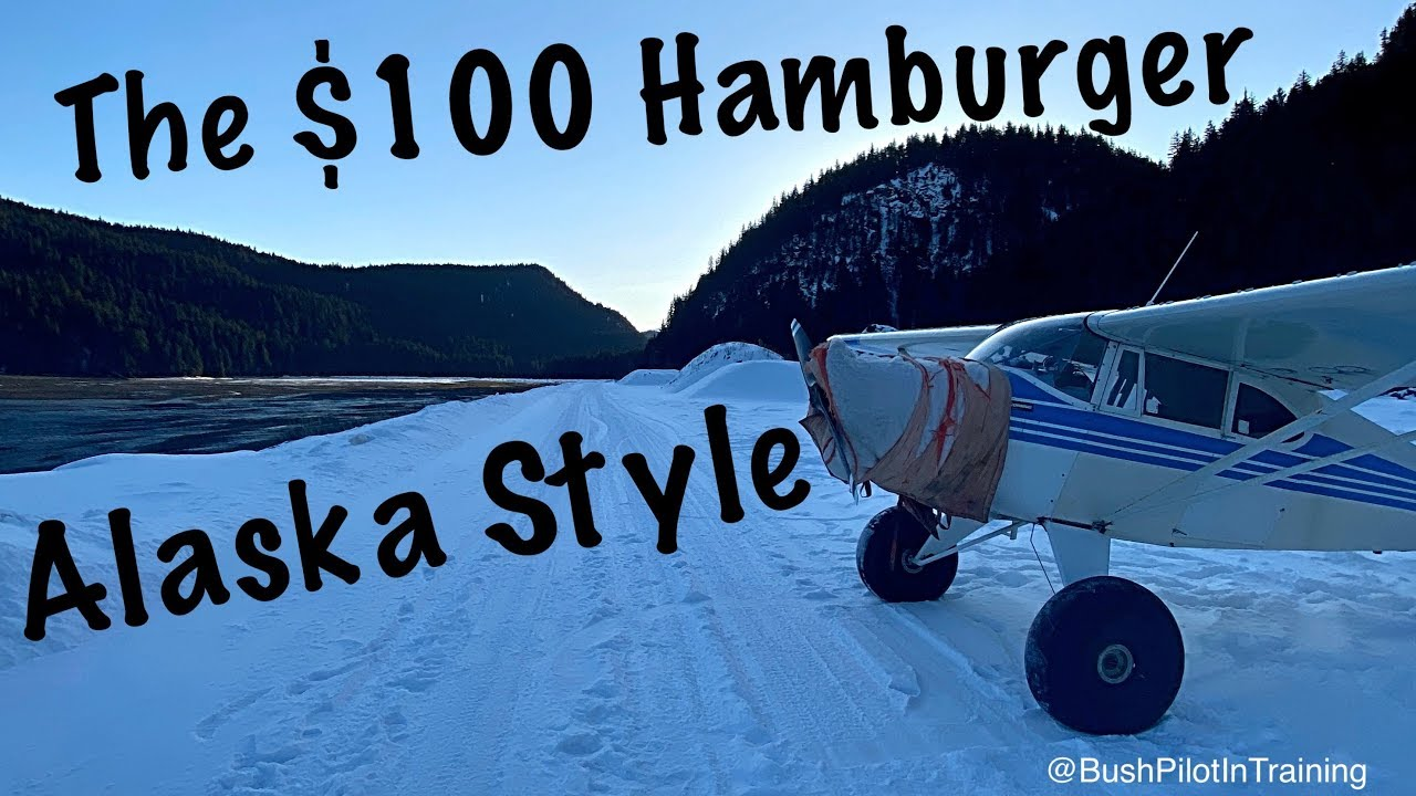 Pilot Rob Eats a $100 Alaskan Hamburger