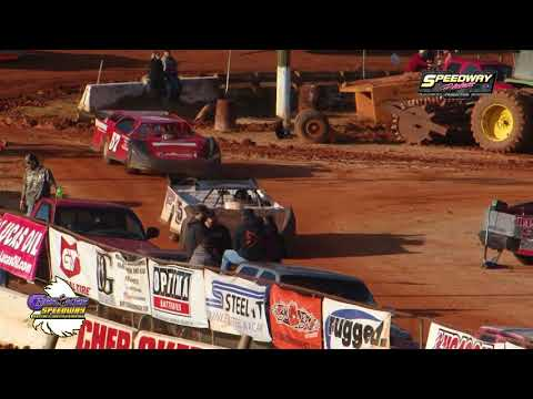 Southeastern Late Model Sportsman HEATS @ Cherokee Speedway Nov  18, 2018