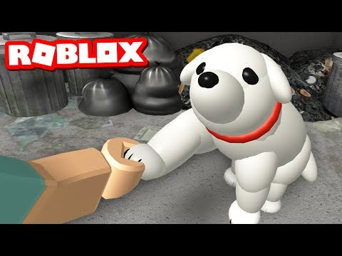 THE ABANDONED PUPPY - A Sad Roblox Story
