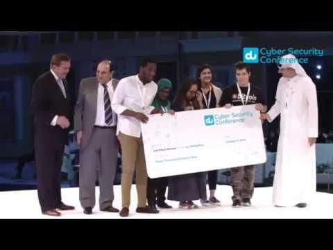 RIT Dubai wins 3rd prize in Du Hackathon at Du Cyber Security Conference