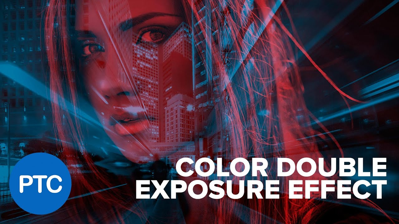 How To Create The Color Double Exposure Effect In