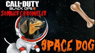 ZOMBIES SPACE DOG AND WAVE GUN EASTER EGG GAMEPLAY - ZOMBIES CHRONICLES (BLACK OPS 3 ZOMBIES)