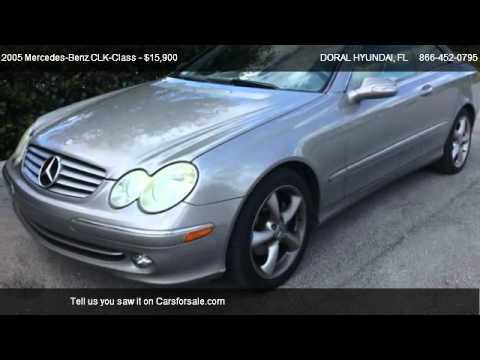 2005 mercedes benz clk class clk320 for sale in doral for 2005 mercedes benz clk320 for sale