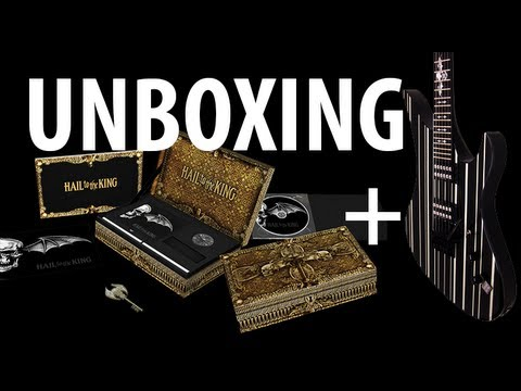 [Unboxing] Hail to the King Box Set + Synyster Gates Guitar