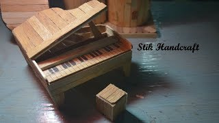 Membuat PIANO | Dari Stik Es Krim | STIK HANDCRAFT