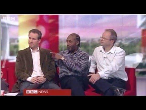 Chris Barrie Danny JohnJules and Robert Llewellyn on BBC Breakfast