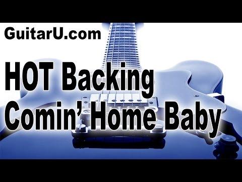 Backing Track: Comin' Home Baby, Rhythm & Blues, Key Of G minor, GuitarU.com