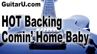 GUITARU.com Backing Tracks, Comin Home Baby Style, Key Of G minor