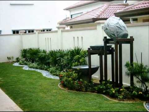 งานประดิษฐ์ตกแต่งบ้าน สวนข้างบ้านจัดเอง