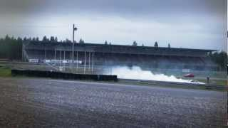 R33 Skyline drifting in Kemora