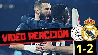 Video REACCIÓN ¡Polémica! • AJAX 1 REAL MADRID 2 | Champions League 2019 • Review - Resumen