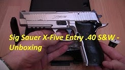 Sig Sauer X Five Entry  .40S&W - Unboxing